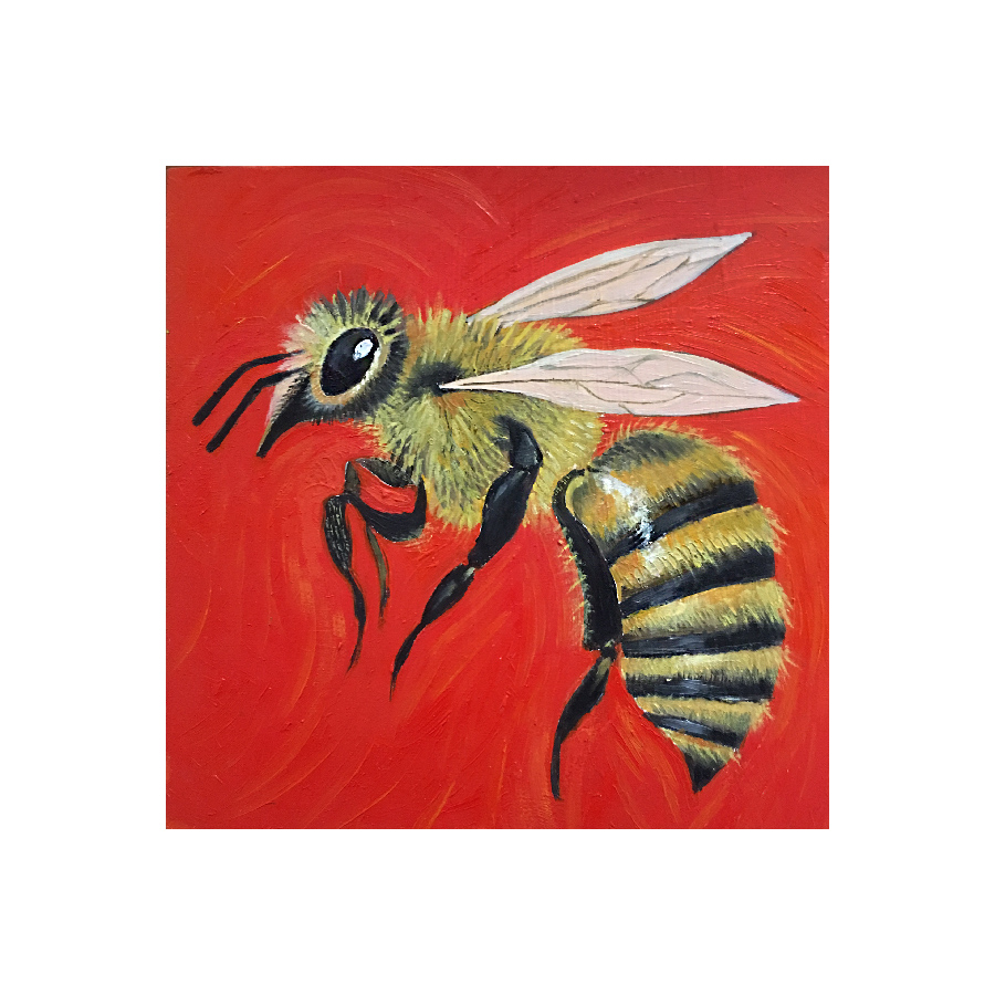 bee-red-yellow
