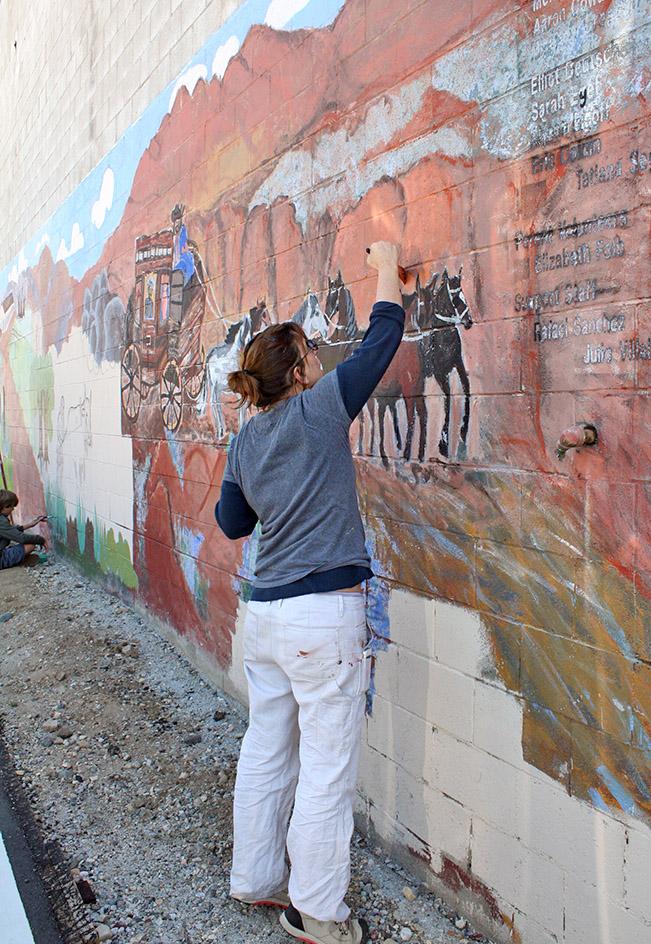 Chatsworth Mural Restoration Project